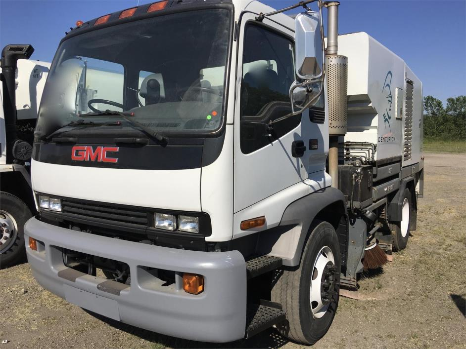 2005 Gmc Topkick C7500  Sweeper