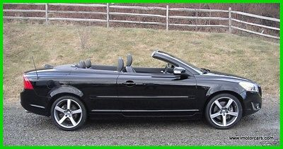 2013 Volvo C70 T5 Hardtop Convertible One Owner 63K Navi Just Volvo Serviced and Inspected Early Bird Special 45 Pics