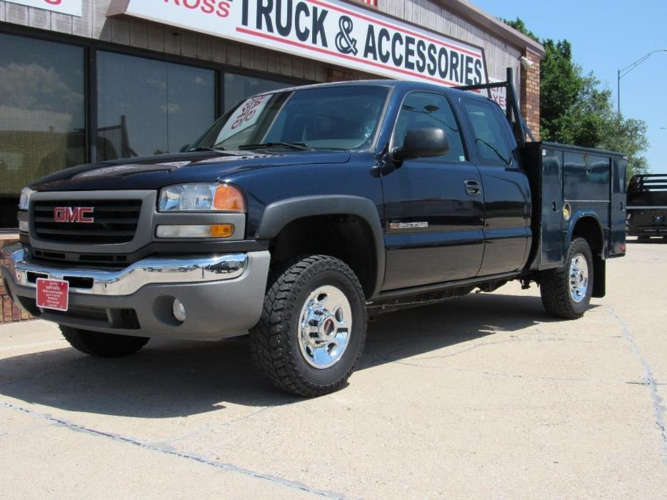 2006 Gmc Sierra 2500 Hd Contractor Truck