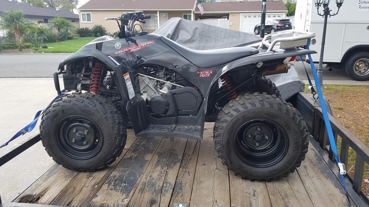 Yamaha Wolverine 450 Auto 4x4 motorcycles for sale in California