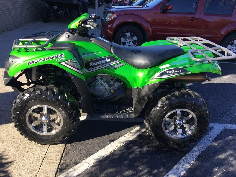 kawasaki brute force 750 4x4i eps candy lime motorcycles for sale. Black Bedroom Furniture Sets. Home Design Ideas