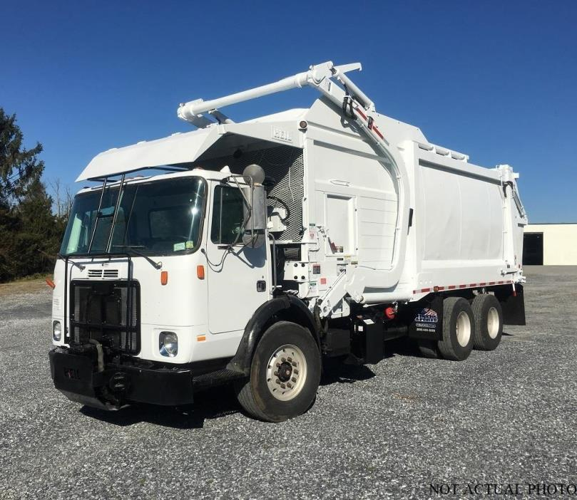 2007 Autocar Wx62d Garbage Truck