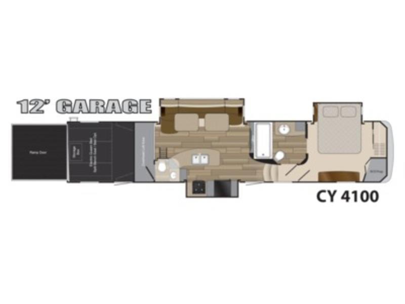 2014 Heartland Rv Cyclone CY 4100