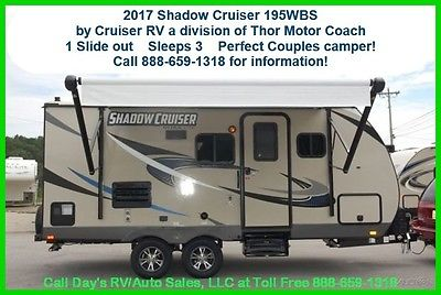 2017 Thor Shadow Cruiser 195WBS Bumper Pull Behind Camper Travel Trailer NEW RV