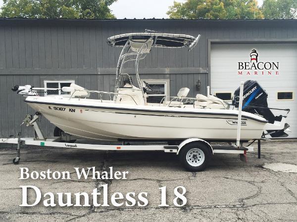 2000 Boston Whaler Dauntless 18