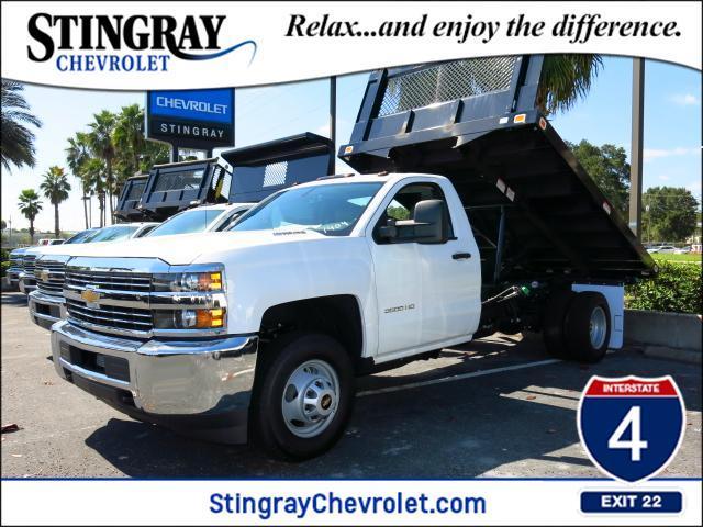 2015 Chevrolet Silverado 3500 Dump Truck
