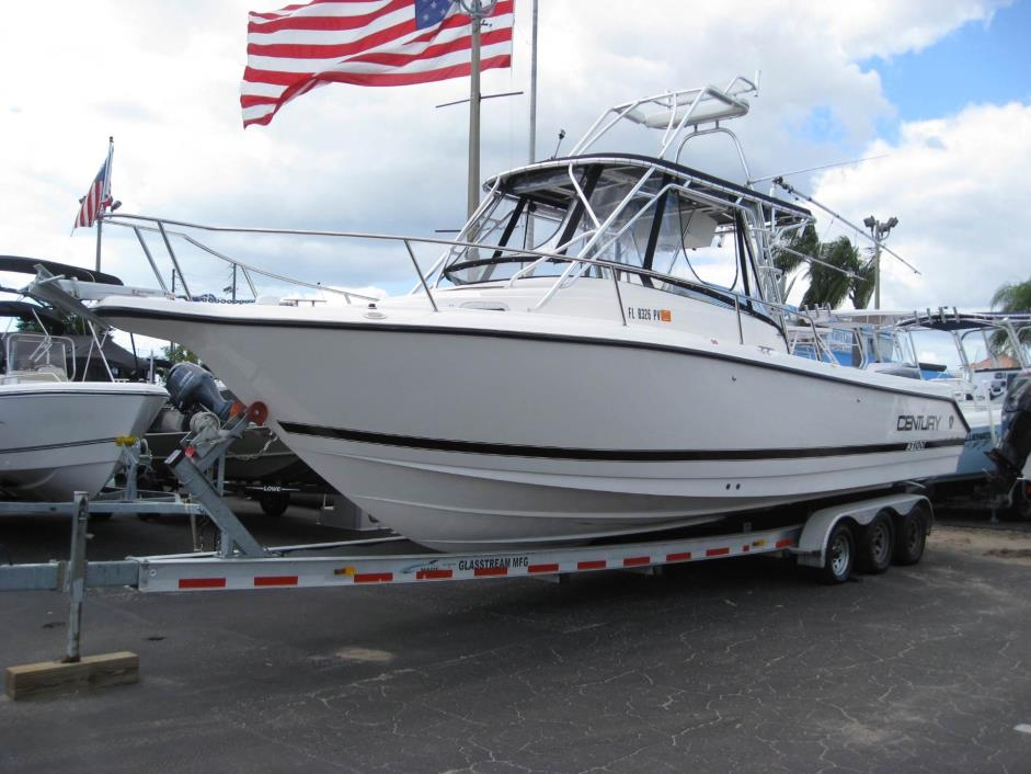 Century boats for sale in holiday florida for Century motors of south florida