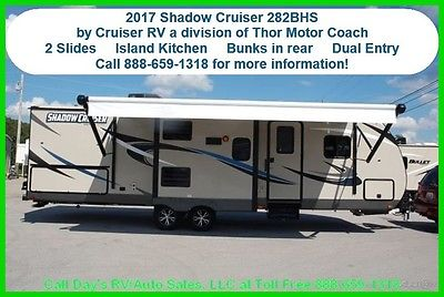 2017 Thor Shadow Cruiser 282BHS Bumper Pull Behind Camper Travel Trailer New RV