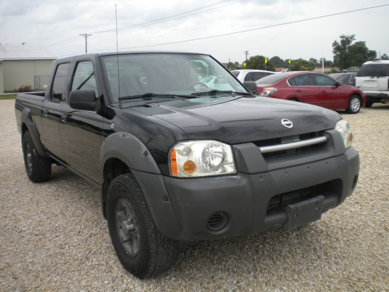 2002 Nissan Frontier 2WD Crew Cab V6 SHARP