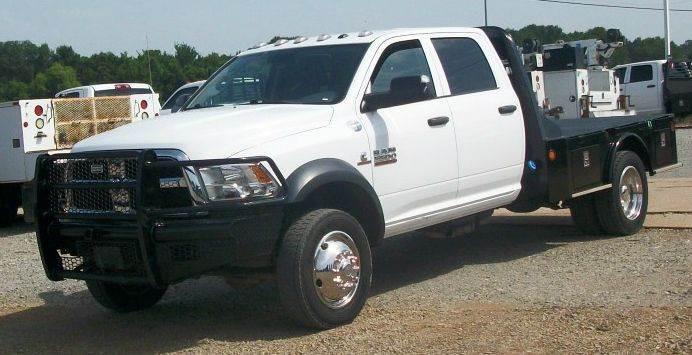 2014 Dodge 5500 4dr 4x4  Flatbed Truck