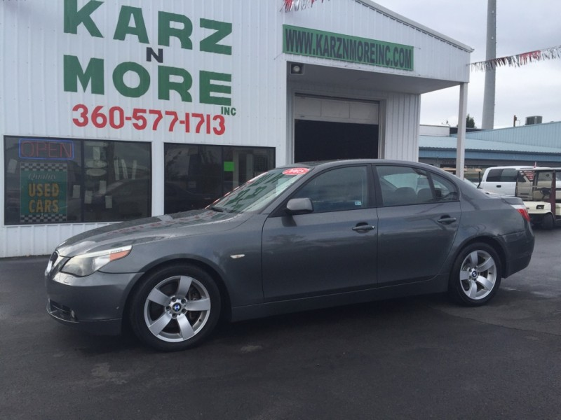 2005 BMW 525i 4dr 6cyl,Auto,Leather,Moon,Loaded,Sharp 5 Series