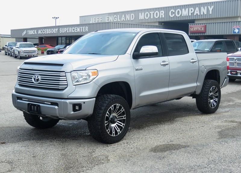 2015 Toyota Tundra 4x4 CrewMax Platinum