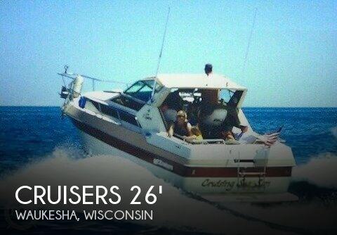 1985 Cruisers Yachts 267 Vee Express