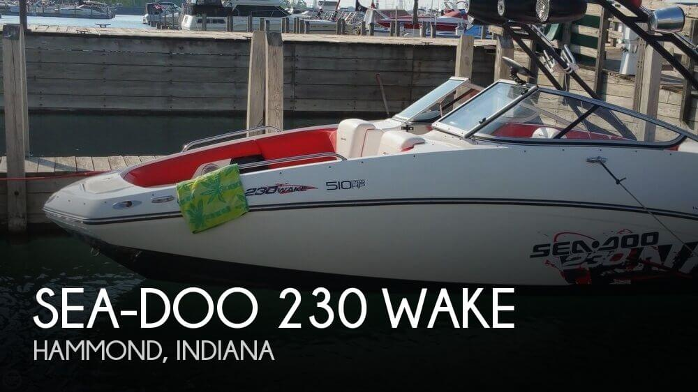 2011 Sea-Doo 230 WAKE