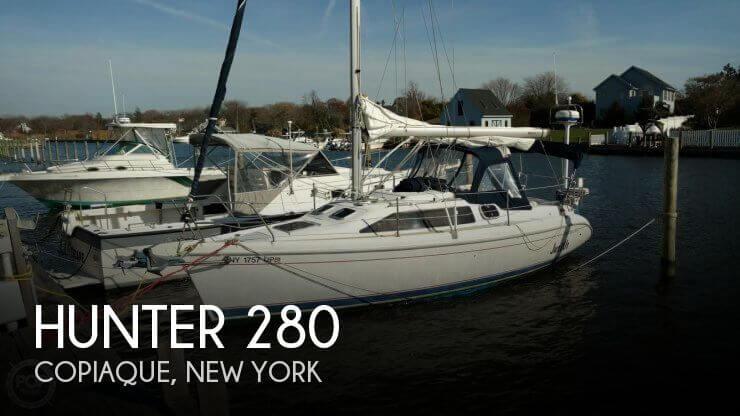 1998 Hunter 280
