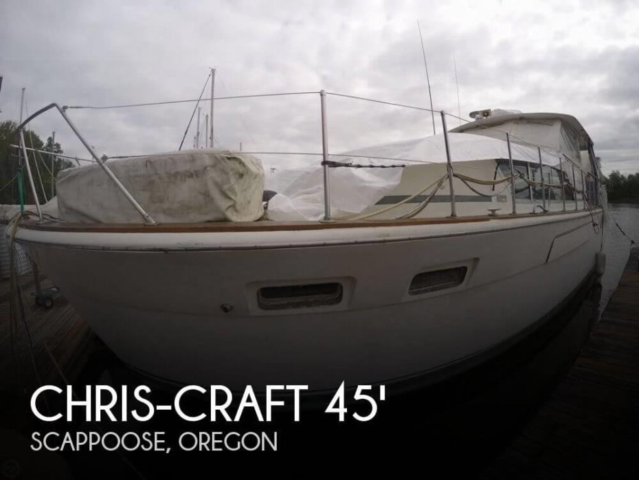 1972 Chris-Craft 45 Commander MY