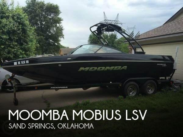 2013 Moomba Mobius LSV