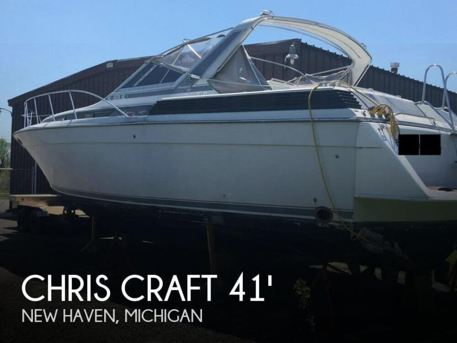 1988 Chris-Craft Amerosport 412
