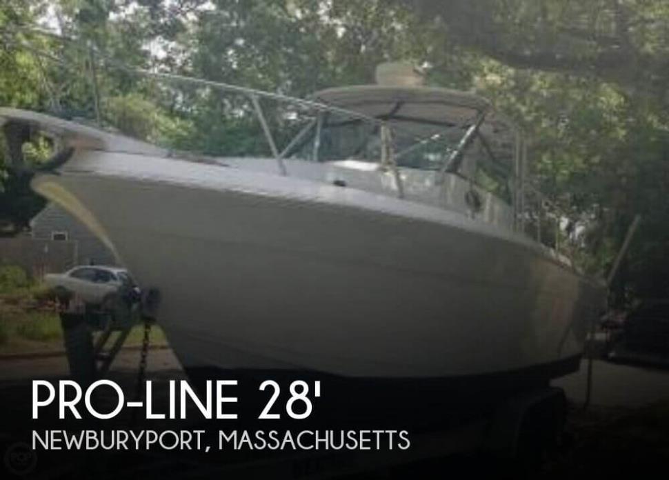 1987 Pro-Line 28 Offshore Walkaround