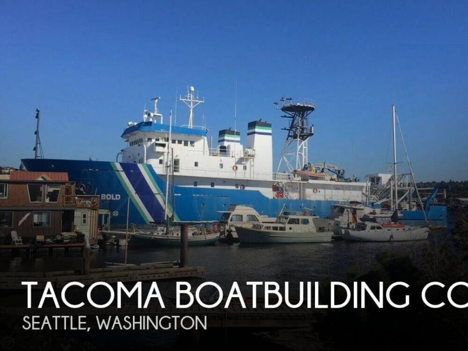1988 Tacoma Boatbuilding Co., Inc. 224' Ocean Survey Vessel, Stalwart Class T-AGOS-12