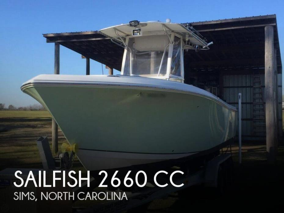 2006 Sailfish 2660 CC