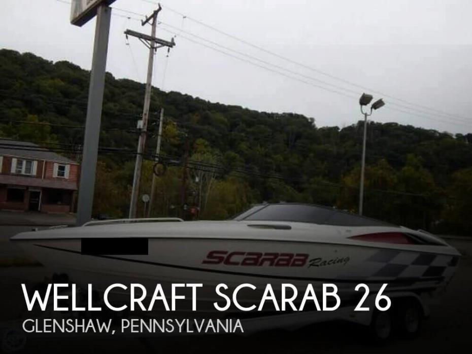 1996 Wellcraft Scarab 26