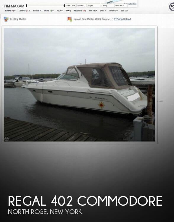 1997 Regal 402 Commodore