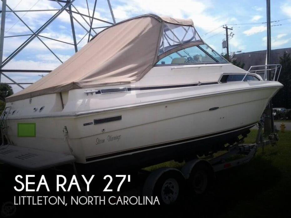 1984 Sea Ray 270 Sundancer