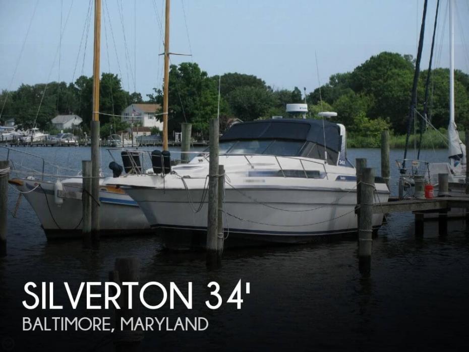 1989 Silverton 34 X (Express)