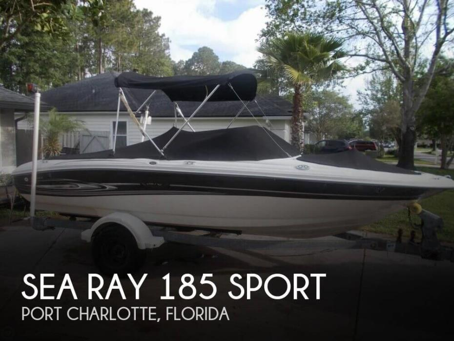 2005 Sea Ray 185 Sport