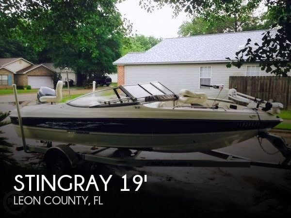 2013 Stingray 191 LX Fish and Ski
