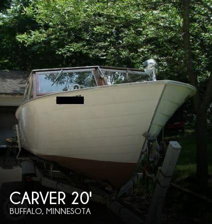 1966 Carver 20 1/2' Camper