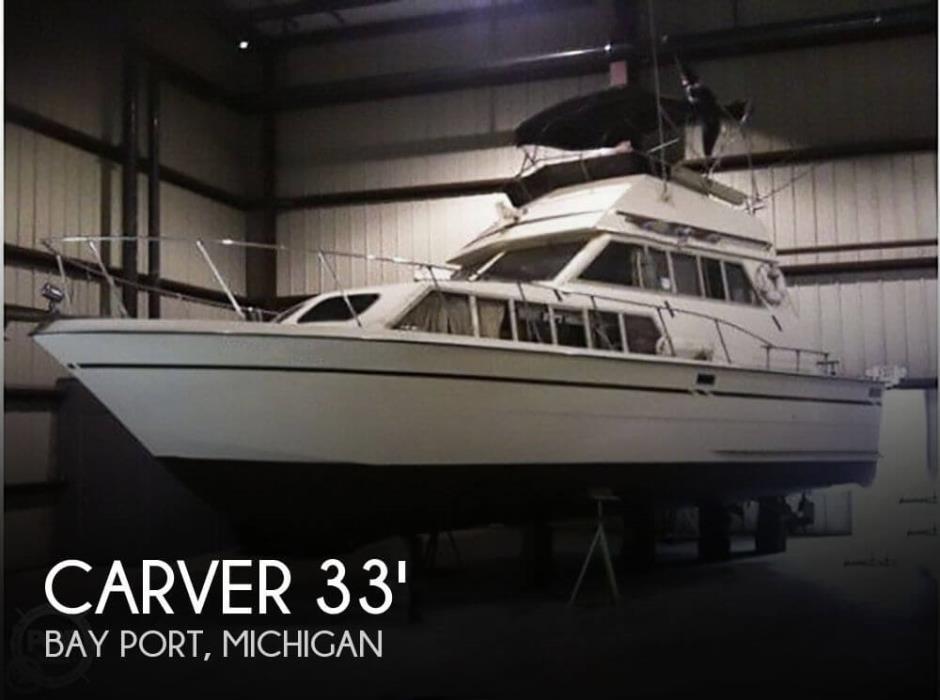 1979 Carver 3326 FE Voyager
