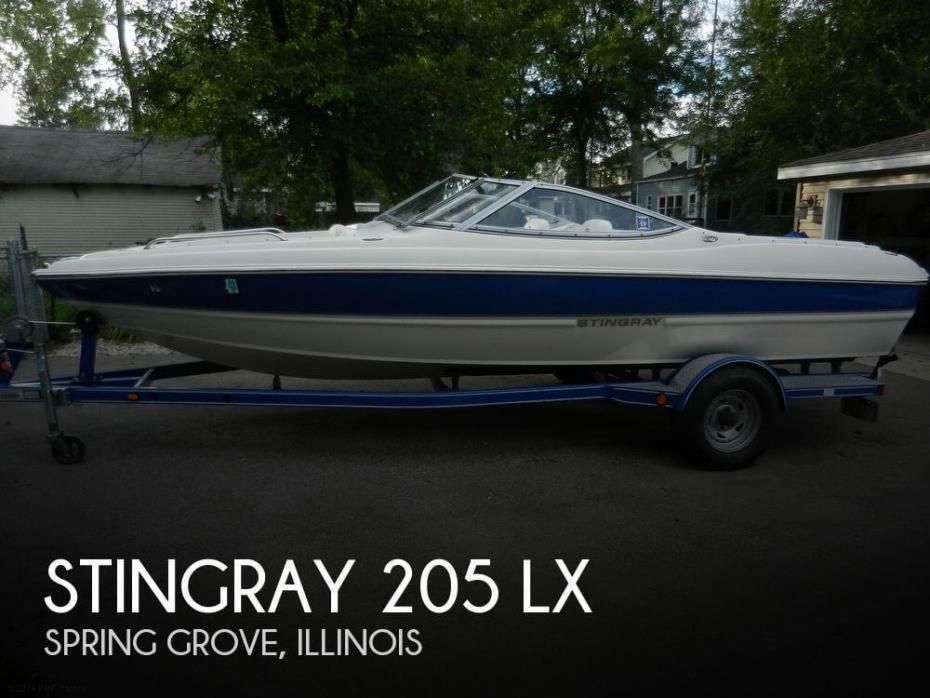 2008 Stingray 205 LX