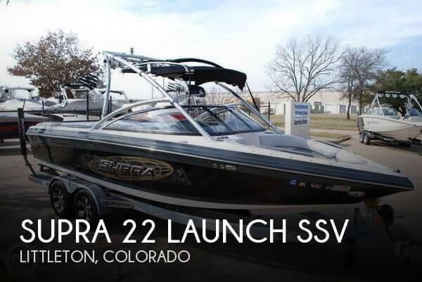 2009 Supra 22 Launch SSV