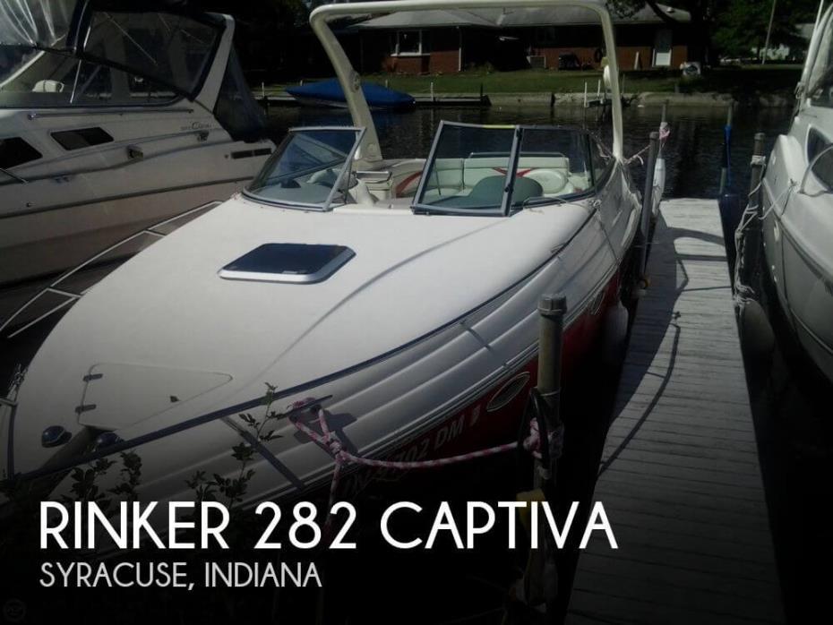2005 Rinker 282 Captiva