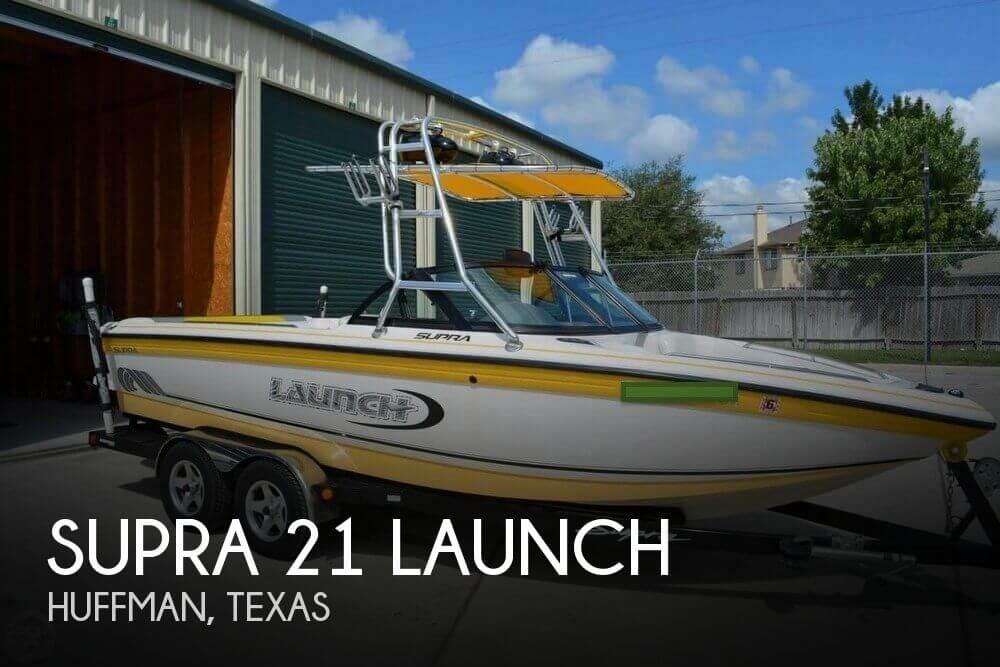 2000 Supra 21 Launch