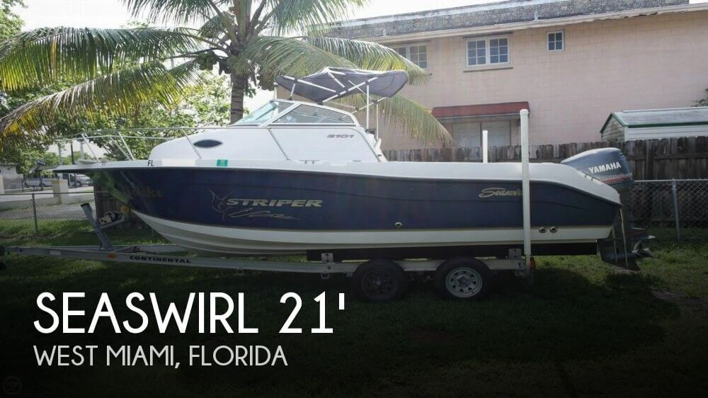 2004 Seaswirl Striper 2101 Walkaround