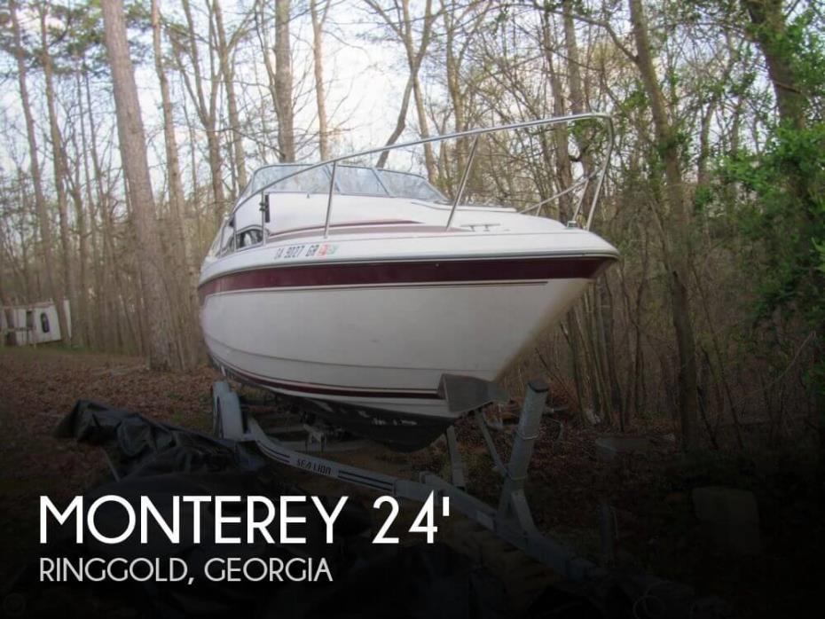 1995 Monterey 256 Cruiser