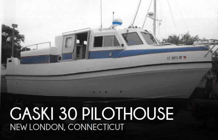 2002 Gaski 30 Pilothouse