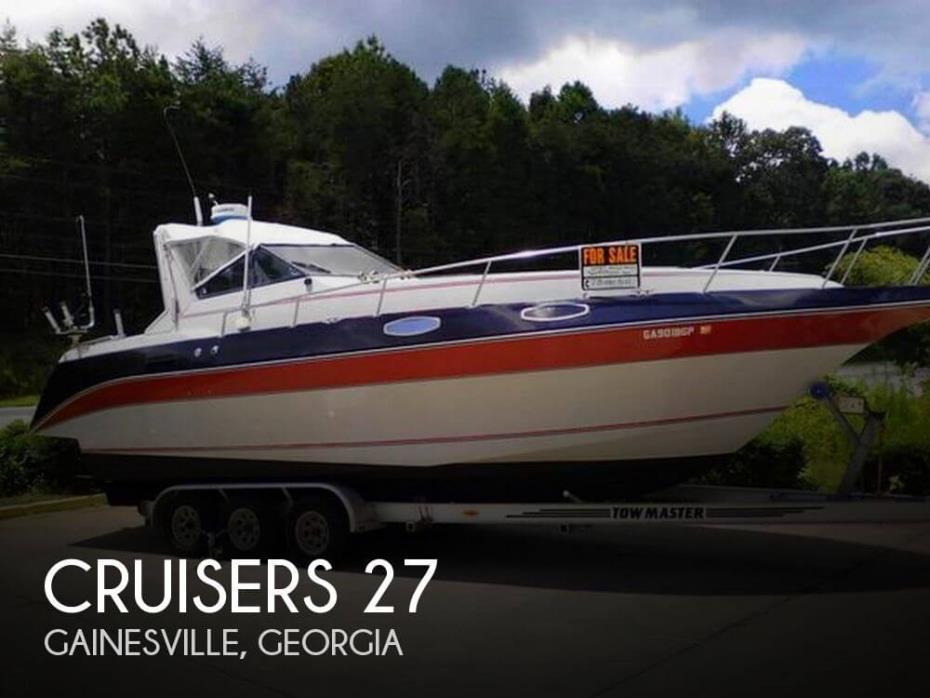 1986 Cruisers Yachts 27