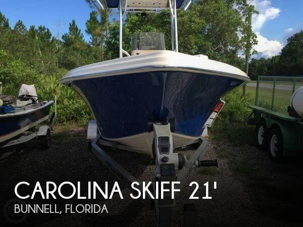 2016 Carolina Skiff Sea Skiff