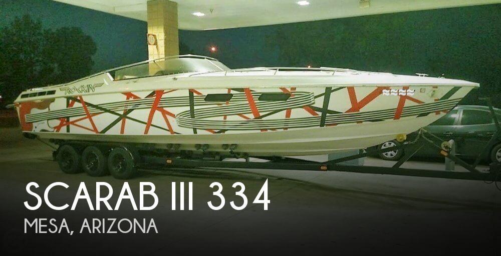 1984 Scarab III 334