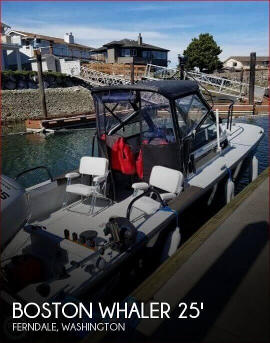 1991 Boston Whaler 25 Guardian Sentry