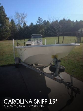 2013 Carolina Skiff 198 DLV