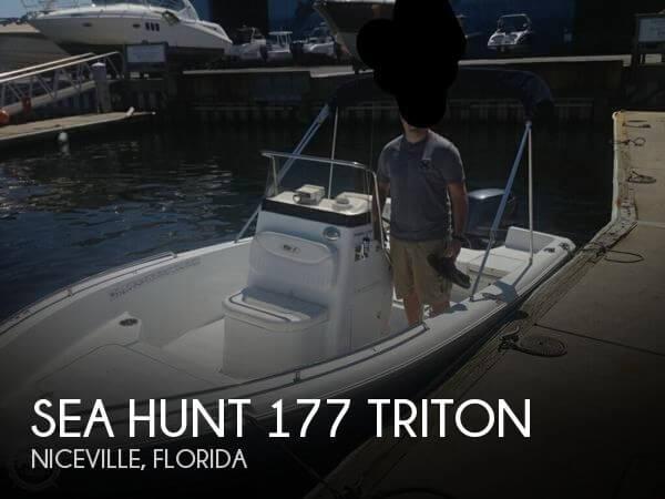 2013 Sea Hunt 177 Triton