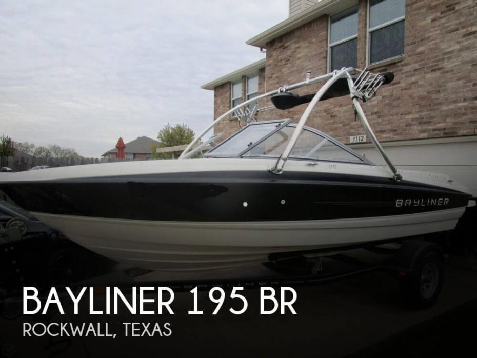 2011 Bayliner 195 BR