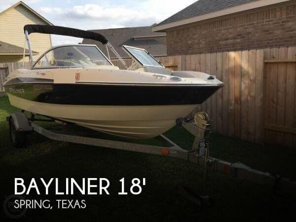2012 Bayliner 185 Runabout