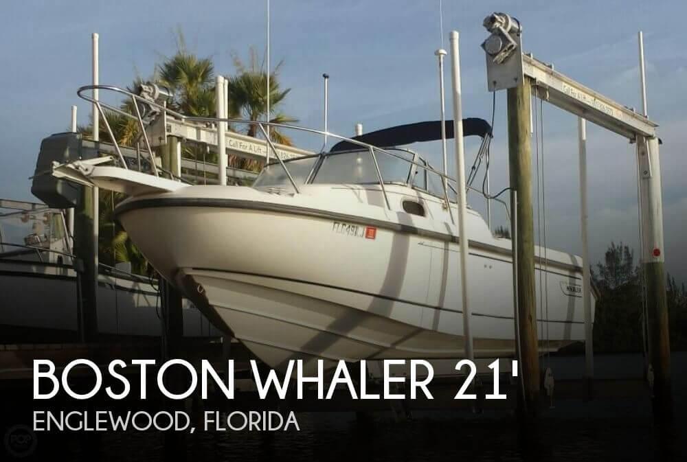 1999 Boston Whaler Conquest 21