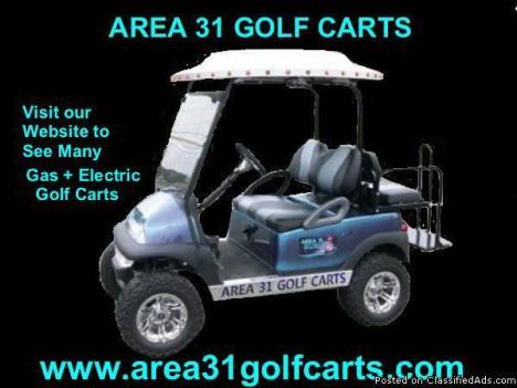 Huge Golf Cart SALE, We even Stock Custom Lifted Golf Carts